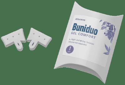 Comment ça fonctionne Buniduo Gel Comfort? Composition du produit.