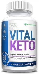 Comment fonctionne le complément alimentaire Vital keto amazon?