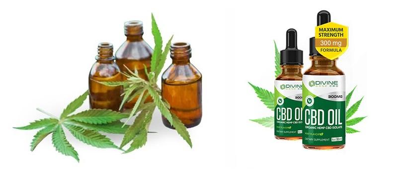 Essayez Divine Ease CBD Oil qui contient des ingrédients 100% naturels!